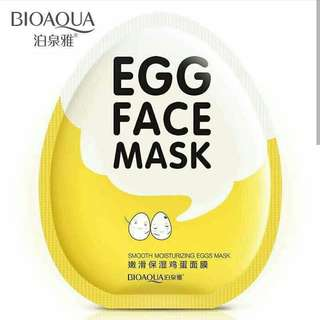 BIOAQUA -Egg Face Mask