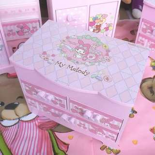 My melody wooden box