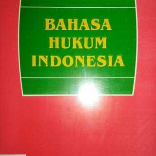 BAHASA HUKUM INDONESIA   PROF. H. HILMAN HADIKUSUMA, S.H.    PENERBIT ALUMNI  ORIGINAL