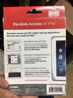 Parallels access for ipad
