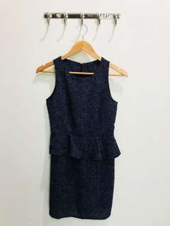 No Label - Navy Blue Dress