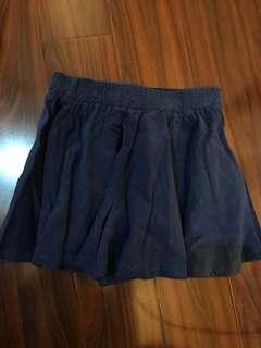 🚚 深藍褲裙 s/m