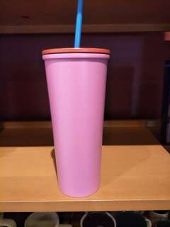 🆕Starbucks tumbler cold cup 20ss face