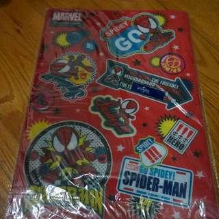 蜘蛛俠 A4 File
