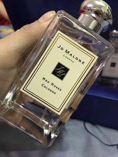 101% Authentic JO MALONE RED ROSES or YOUR MONEY BACK!