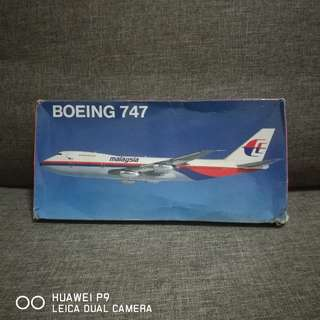 MAS Vintage Boeing 747 Scale Model
