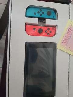 Brabd new nintendo switch with reciept