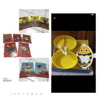Open文件夾*10+小蜜蜂塑膠盒