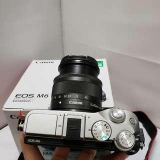 Canon M6.98%new