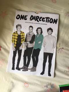 ONE DIRECTION 2016 OFFICIAL MONTH CALENDAR