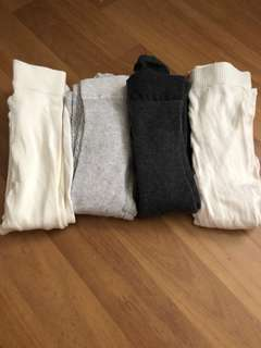 BN 4pcs H&M Girls Teens Leggings