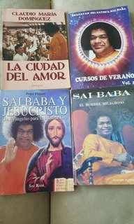 4 Spanish books
