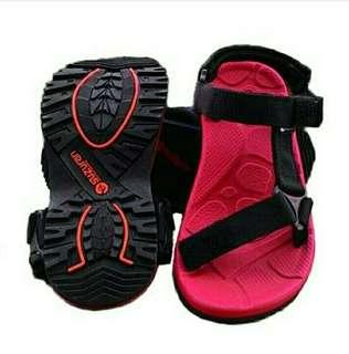 Sandal Gunung Suzuran Slop Mr2 Red w Black