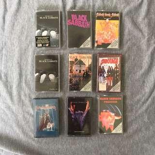 Black Sabbath Cassette Combo