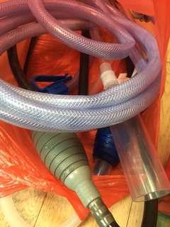 魚缸抽水和送水網管