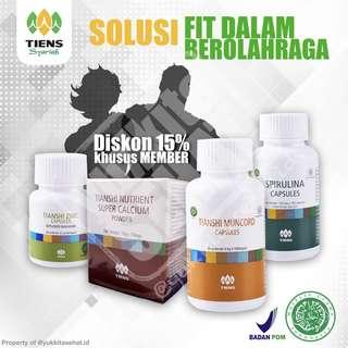 Nutrisi Fitness & Olahraga
