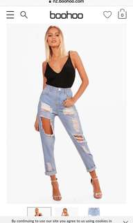 Boohoo highwaisted jeans