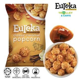 Eureka Popcorn (Classic Caramel / Savoury Cheese / Hot & Spicy) - 80g