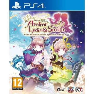 PS4 Atelier Lydie & Suelle - The Alchemists And The Mysterious Painting