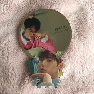 WANNA ONE i promise you day ver minhyun and kuanlin WTT