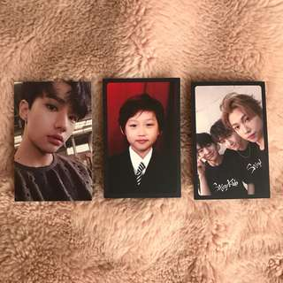 STRAY KIDS i am not hyunjin, felix and group pc WTT