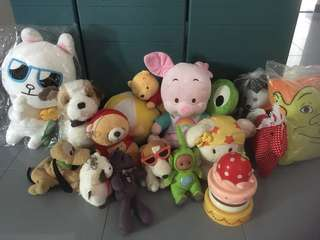 Soft Toys all for $10
