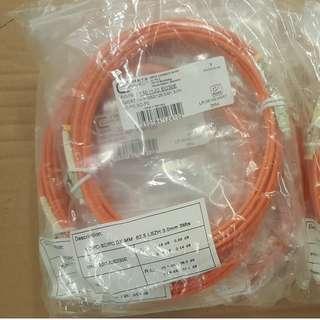 Fiber Optics Patch Cord,OM1,3.0mm, LC-D/SC-D 3.0m