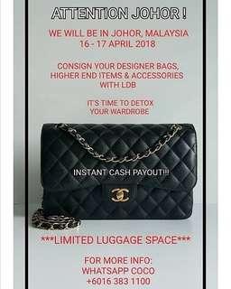 Attention Johor