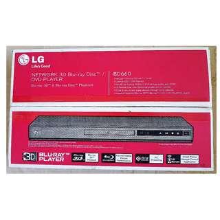 LG Blu-ray Disc™ Player (BD660) - Supports 3D, USB & LAN playback