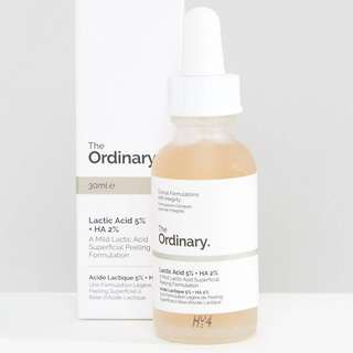 Lactic Acid 5% + HA The Ordinary
