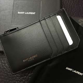 Saint Laurent YSL wallet coins bag 散銀包 card holder 卡套 卡包 銀包