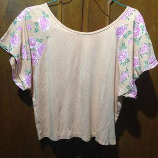 baju flower crop