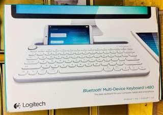 全新Logitech K480藍芽鍵盤可同時連3部機Bluetooth multi-device keyboard
