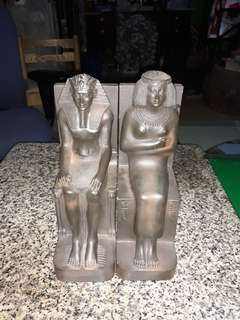 Egyptian hard stone statue