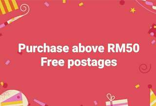 Free postages limited time only!