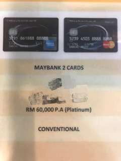 Maybank ( RM150 cash reward)