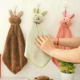 Hand towel kain handuk lap tngan