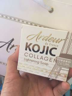 Kojic collagen lightening soap