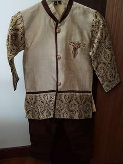 Traditional Indian Costume For Sale! Made in India! Only used once for school event. It's as good as new! Grab it NOW!!!
