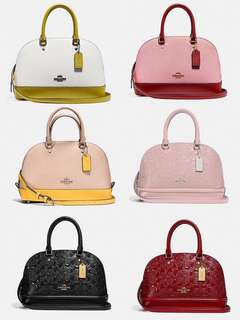 Coach mini sierra satchel
