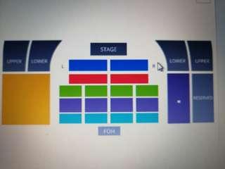 Onerepublic live Malaysia 2018 rock zone for 2
