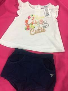 Authentic Baby Guess Set