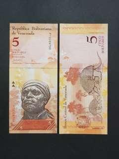 Venezuela 5 Bolivares 🇻🇪 !!!