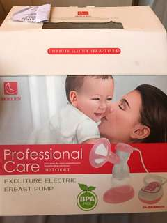 Electric Breast Pump and Manual