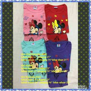 Mickey pyjamas lelong