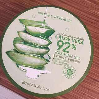 Aloe Vera 92% Soothing Gel Nature Republic