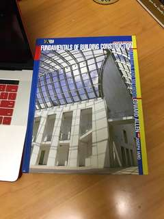 Fundamentals of Building Construction : Materials and Methods - 4th edition