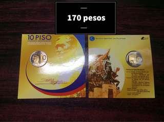 10p Andres Bonifacio Coin Blister Pack