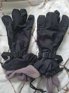 Authentic burton gloves