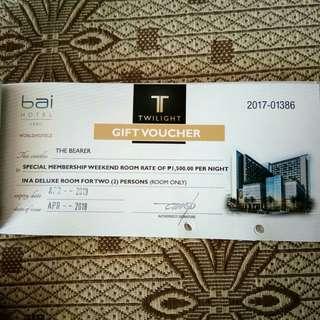 Bai Hotel Deluxe Room without Breakfast Room Voucher